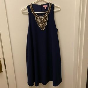 Lilly Pulitzer Beaded Swing Dress, Size M